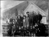 Pine Grove School, Columbia County, Washington, 1897