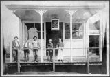 Saloon in Kalama, Washington circa 1890s