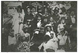 Methodist women's group, Kalama, Washington circa 1895-1899