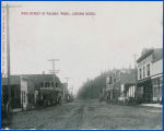 Main street of Kalama, Wash., looking north, circa 1890-1909