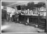 Kockritz Hotel bar, Kalama, Washington, circa 1900-1909