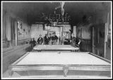 Pool hall in Kalama, Washington circa 1890-1909