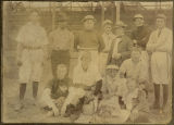 Baseball team, Kalama, Washington, 1900