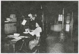 Telephone office, Kalama, Washington, circa 1900-1919