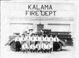 Kalama Fire Department, Cowlitz County, Washington circa 1930-1935