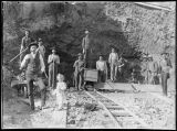 Gold mine in Kalama, Washington, 1903