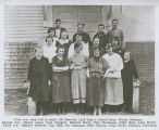 Kalama High School class of 1917, Kalama, Washington, 1917