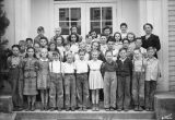 Kalama grade school students, Kalama, Washington, 1941