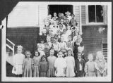 Grade school children, Kalama, Washington, circa 1900-1910