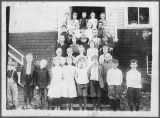 Cloverdale School children, Kalama, Washington, circa 1911-1920