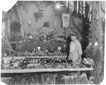 Grange display at the Kalama Fair, Kalama, Washington, circa 1930-1940
