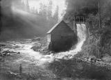 Power house on Kalama River, Kalama, Washington, circa 1900-1909