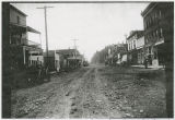 First Street after being filled in, Kalama, Washington, 1915