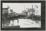 Downtown Kalama being filled in with dredged materials, Kalama, Washington, 1914