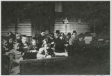 Students in classroom, Kalama, Washington, 1900