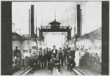 "Crew of the ferry ""Tacoma"", Kalama, Washington, circa 1900-1908"