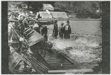 Fish trap Kalama River, Kalama, Washington, circa 1920-1925
