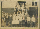 Elementary school students, Kalama, Washington, circa 1912-1913