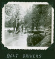 Bolt drivers in the South Fork Valley, Whatcom County, WA, circa 1900