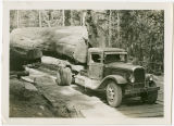 Galbraith Bros. logging truck, Whatcom County, Washington, 1931