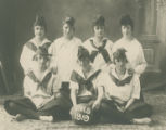 PHS girls basketball team, Prosser, Washington, 1919