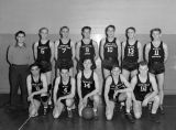 Town basketball team, Ritzville, Washington, January 15, 1940