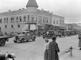 Old car parade, Ritzville, Washington, March 5, 1937