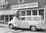 Columbia Basin Motors service shop, Ritzville, Washington, March 17, 1950