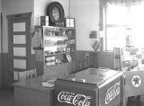 Milner's gas station [interior], Ritzville, Washington, January 31, 1940