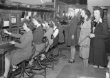Telephone operators, Ritzville, Washington, February 10, 1945