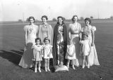 4-H queen and princesses, Ritzville, Washington, September 1, 1938