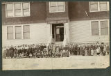 Lind's second school, Lind, Washington, circa 1901-1902