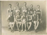 Lind High School basketball team, Lind, Washington, 1913