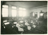 Eckhardt school classroom and students, Adams County, Washington, circa 1920-1929