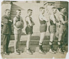 Lind basketball team, Lind, Washington, 1922
