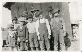 Burkhart School students, Adams County, Washington, 1915