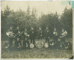 M.W.A Cornet Band, Rockford Washington, ca. 1900-1919