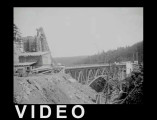 Deception Pass Bridge construction